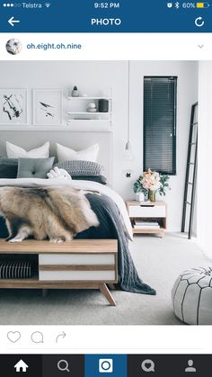 Ugh enough enough enough with all this rain and snow. I think its time to take a day off in this beautiful bedroom. - Architecture and Home Decor - Bedroom - Bathroom - Kitchen And Living Room Interior Design Decorating Ideas - Bedroom Inspo, Home Bedroom, Bedroom Ideas, Bedroom Designs, Gray Bedroom, Budget Bedroom, Bedroom Interiors, Bedroom Apartment, Brown Bedroom Furniture