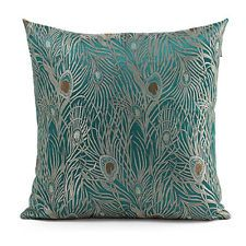 "18"" Chinese Classic Peacock Bird Tapestry Satin Throw Pillow Case Cushion Cover"