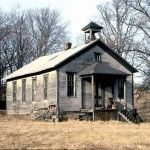Old One Room School house located along rt 110 in Indiana County, this is how it was in 1969