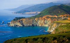 Big Sur, a 90-mile stretch of rugged and awesomely beautiful coastline between Carmel to the north and San Simeon to the south