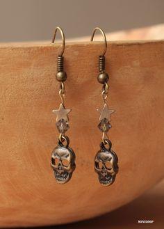 boucles d'oreille .Miniloop bijoux
