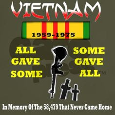 Vietnam Veteran All Gave Some colored T-Shirt on CafePress.com