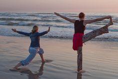 Saltum StrandSild. Skøn start på sommerturne og starten på årskortet til Yoga ... kan anbefales