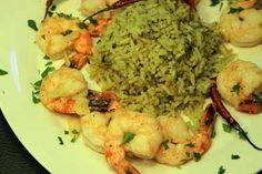 Zesty Shrimp with Tasty Cilantro Rice (Gluten-Free)
