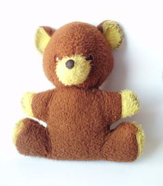 Vintage Teddy Bear by PoorLittleRobin on Etsy