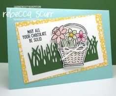 CTC114 - Basket Bunch bundle - Rebecca Scurr - Independent Stampin' Up! demonstrator - www.facebook.com/thepaperandstampaddict