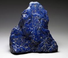 Chinese Lapis Lazuli with inscriptions wishing you good fortune and long life