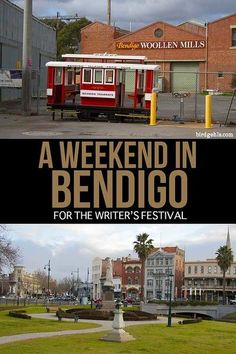 If you're determined to get to Bendigo at some point, consider saving your trip for the Bendigo Writers Festival - a super fun three day literary affair. Brisbane, Sydney, Visit Australia, Melbourne Australia, Australia Travel, Australia Holidays, Festivals Around The World, Travel Around The World, Travel Guides