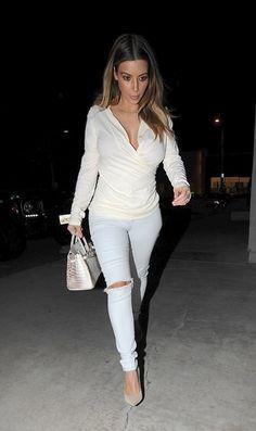 Kim Kardashian Style.