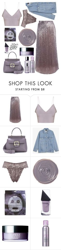 """""""Meet me in the garden"""" by felicitysparks ❤ liked on Polyvore featuring Twinset, Monki, M&Co, Rituel de Fille, GUiSHEM, Clinique and StriVectin"""