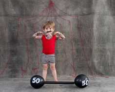 I'm getting my ideas together for the kids costumes this year! #circus