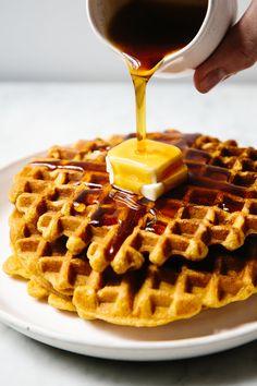 pumpkin waffles | apt 2b baking co