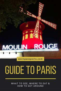 Travel guide to Paris, France: Sample itinerary, advice, and recommendations from real travelers. Visit Moulin Rouge, Versailles, Eiffel Tower, Louvre, Musee D'orsay, Pantheon, Notre Dame, Sacre-Coeur & Jardin du Luxembourg like a pro. Learn about local restaurants Montparnasse 1900, Au Petit Creux, Odette Paris, and how to get around the city.