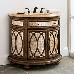 Ambella Home - 06702-110-400 Tiffany Sink Chest Available to order through Park Supply Company www.parksupplycompany.com