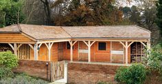 Premium timber stable complex