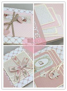 Papel Scrapbook, Mini Scrapbook Albums, Baby Girl Scrapbook, Mini Albums Scrap, Mini Album Tutorial, Mini Photo, All Paper, Paper Design, Diy Gifts