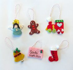 Mini Advent Tree Ornaments Set 2 (go with Christmas Tree for Toddlers) on Imagine Our Life at http://www.imagineourlife.com/2013/11/30/mini-advent-ornaments-set-two/