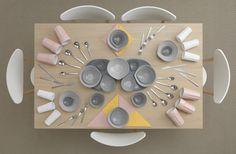 Ikea kitchenware by photographer Carl Kleiner & stylist Evelina Bratell. I love Ikea. Ikea Art, Ikea Ikea, Things Organized Neatly, Ikea Table, Ikea Dining, Dining Tables, Dining Rooms, Kitchen Dining, Deco Table