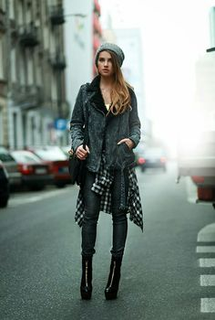 This is a great example of layering in a creative way..if you don't want to wear it all then add it to your body in a different way, like tying a piece around your waist  http://lekleinhabibti.blogspot.ae/