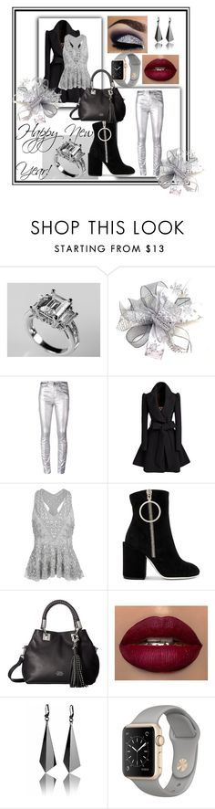 """""""Happy New Year!"""" by bamagirl0320 ❤ liked on Polyvore featuring Étoile Isabel Marant, Miss Selfridge, Off-White and Vince Camuto"""