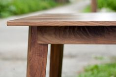 Hello handcrafted walnut dinning table. I love you. $395. (Via melissapher who pinned a diff image)
