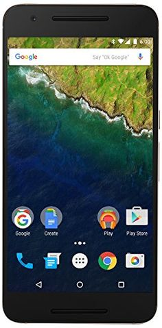 """The #Nexus 6P is the new phone from #Google with Android 6.0 Marshmallow. The 6P features a 5.7"""" WQHD AMOLED display with 518 pixels per inch and a camera that ta..."""