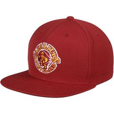 Cleveland Cavaliers Mitchell & Ness Wool Solid 2 Adjustable Snapback Hat - Wine - $29.99