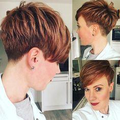neue kurze Frisuren