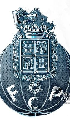 Porto FC, emblem, creative, Primeira Liga, soccer, Portugal, Bruno Sousa, fan art, Porto, Portuguese football club, FC Porto Fc Porto, Fan Art, European Football, Hd Picture, Psg, Porsche Logo, Portugal, Wallpapers, Pictures