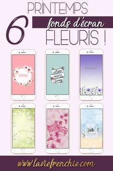 Article - 6 fonds d'écran fleuris pour le printemps !  La Vie Frenchie Blog   Article, printemps, spring, freebies, fleuris, floral, wallpapers, background, iphone, fonds d'écran, colorful, colorés, création, blog, blogging, blogger, blogueuse, lifestyle, Cellphone Wallpaper, Iphone Wallpapers, Spring, Lifestyle, Love, Weddings, Flowers, Iphone Wallpaper, Iphone Backgrounds