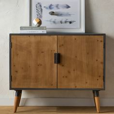 Found it at Wayfair - Bremen Wood Cabinet