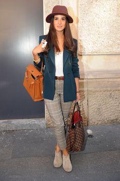 The Best Street Style Photos of Celebrities and Fashion Editors at Milan Spring Summer Fashion Week | POPSUGAR Fashion Australia