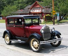 Model A Ford, 1928.