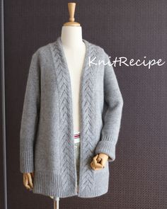 Sweater Fashion, Knit Cardigan, Knitting, Sweaters, Jackets, Tops, Women, Girls Coats, Vestidos