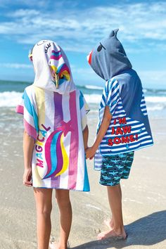 Juice Box by DM Merchandising: HOODED TOWELS • Super Absorbent Terrycloth • Warm & Cozy Character Hood • Easy On/Off Poncho Style • Ages 2+ Hooded Towels, Warm And Cozy, Hoods, Filter, Juice, Cover Up, Purses, Box, Easy