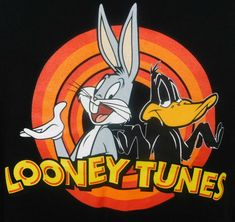 Looney Tunes Bugs Bunny Daffy Duck Color Block T-shirt Large Black RedYou can find Looney. Looney Tunes Characters, Classic Cartoon Characters, Looney Tunes Cartoons, Old Cartoons, Classic Cartoons, Duck Cartoon, Cartoon Shows, Cartoon Art, Time Cartoon