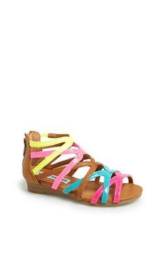 Steve Madden 'Trickle' Wedge Sandal (Toddler Girls) available at #Nordstrom