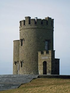 O'Brien's Tower on the Cliffs of Moher Definitely want to go here if I ever visit Ireland. I want to see the CLIFFS OF INSANITY!