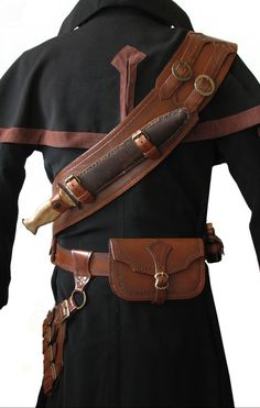 Belts, Straps, and Leatherwork