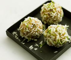 Kokosbollar med lime   Recept ICA.se