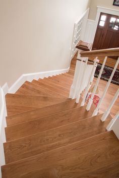 Custom Cherry Stair Treads And Nosing   Mill Direct
