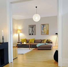 another apartment in my home city of Gothenburg, Sweden. Swedish Interior Design, Swedish Interiors, Apartment Interior Design, Four Rooms, Workspace Inspiration, Living Area, Living Rooms, Sweet Home, Gothenburg Sweden