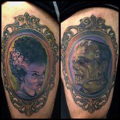 bride and frankenstein tattoos - Google Search