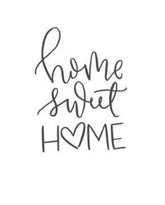 quotes Home Sweet Home // Brush Script Quote // Digital Print // Hand-Lettered Brush Script, Calligraphy Doodles, Calligraphy Letters, Calligraphy Handwriting, Love Caligraphy, Modern Calligraphy Quotes, Sign Letters, Sweet Home, Hand Lettering Quotes