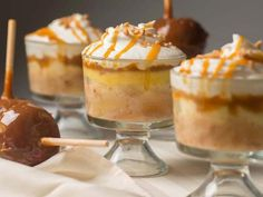 Yum! Check out the Caramel Apple Trifle Delight from Lucky Leaf. I'm going to try it, and you should too!