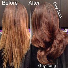 Hair make-over #balayage #ombre
