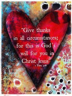 1 Thesalonians 5:18
