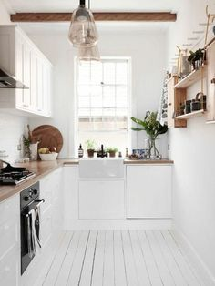 53 Wohnideen Küche Für Kleine Räume   Wie Gestaltet Man Kleine Küchen?
