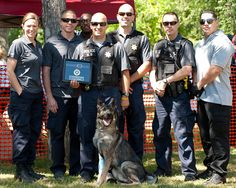 Officer Bodie and his Sac PD K9 crew!   photo by Patrick Storm photography #sacramento
