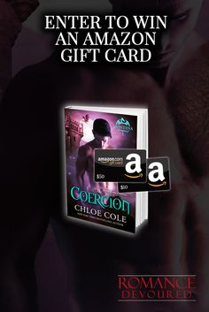 Win a $10 or $50 Amazon Gift Card from NY Times Bestselling Author Chloe Cole http://www.romancedevoured.com/giveaways/win-a-10-or-50-amazon-gift-card-author-chloe-cole/?lucky=151759